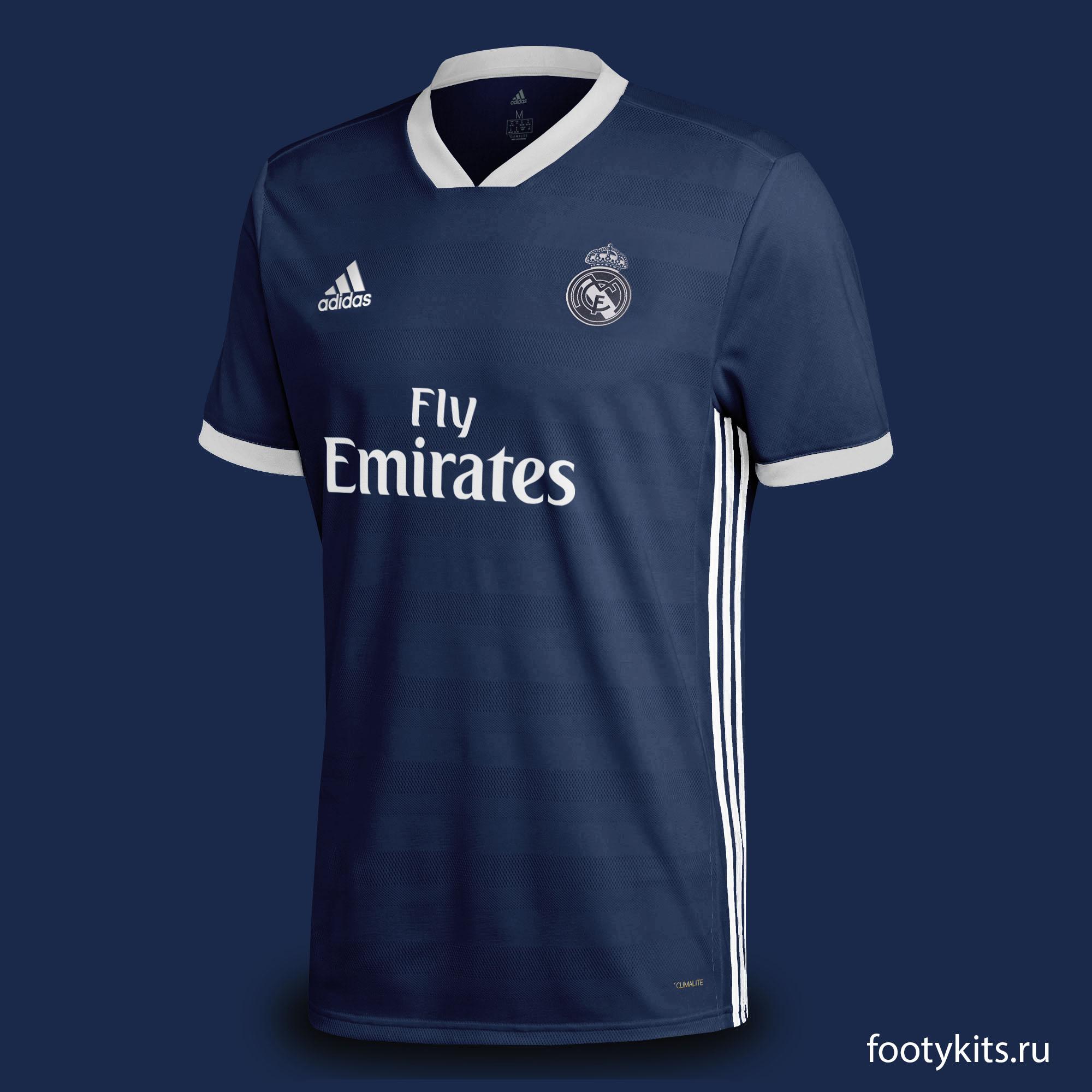 "гостевая форма ""Реал Мадрид"" 19/20"