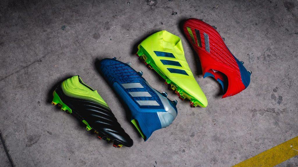 Adidas представляет новую коллекцию бутс Exhibit Pack