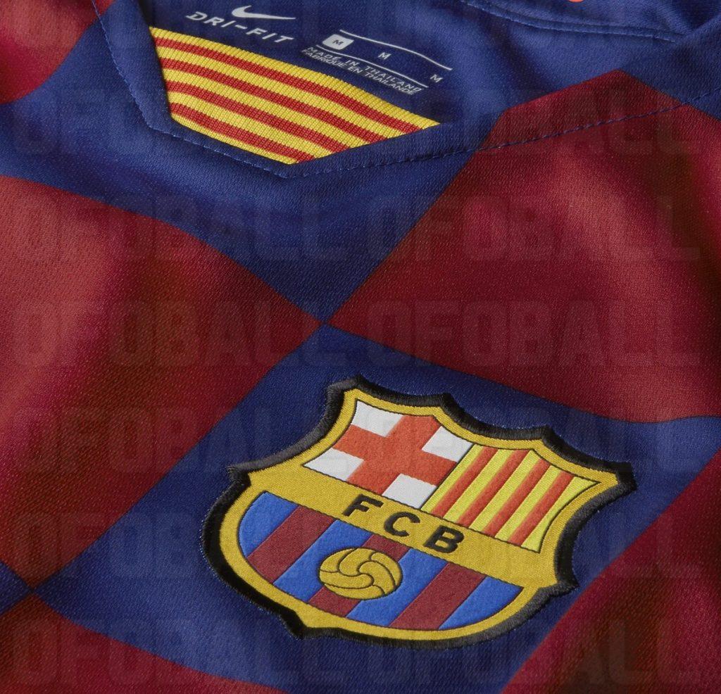 "Клетчатая форма ""Барселоны"" 2019-2020"