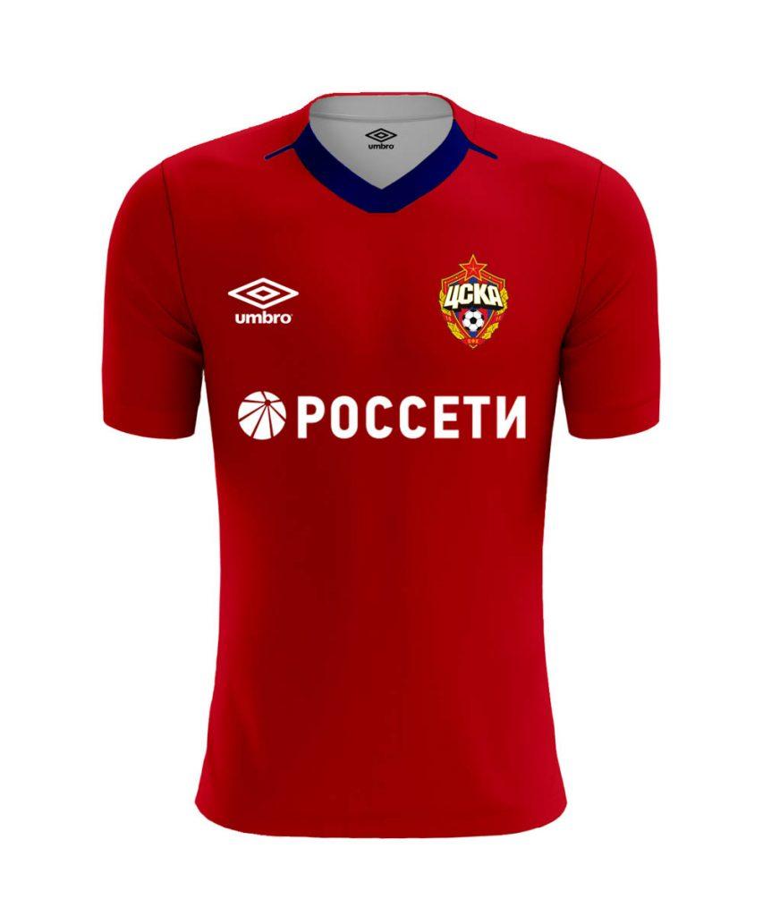 Домашняя форма ЦСКА 2019-2020