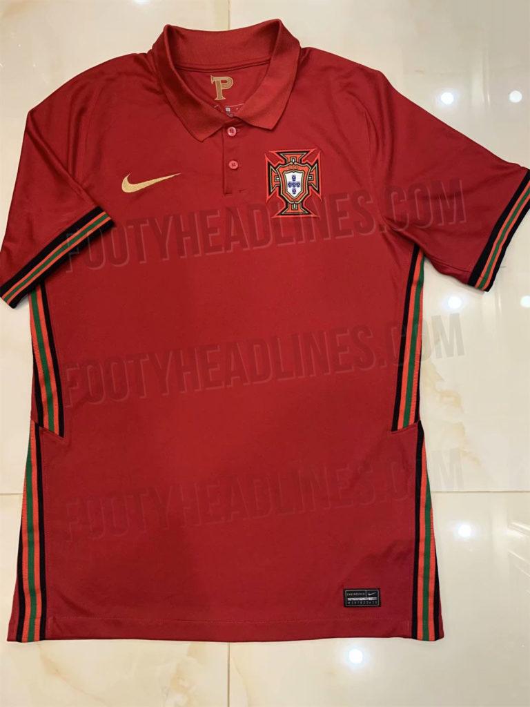 Домашняя форма сборной Португалии 2020