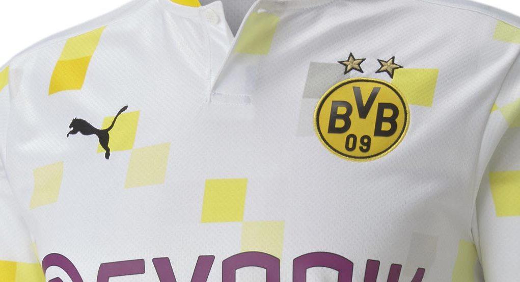 Новая третья форма Боруссии Дортмунд 20-21
